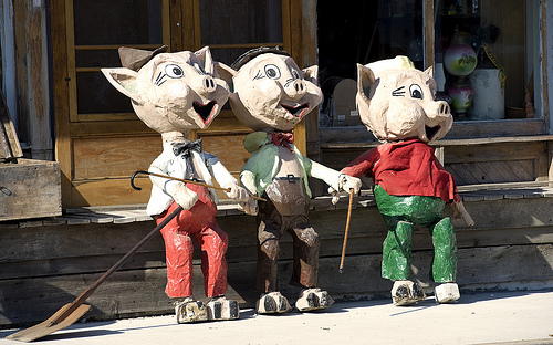 Three little Pigs - The Guardian